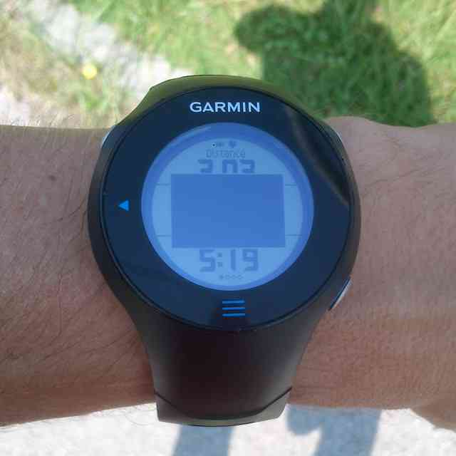 Locked Garmin FR610